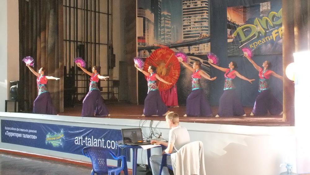 Хореографическая студия «Фреш» в Международном лагере «DANCE-кре