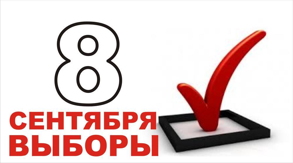 8 сентября выборы!