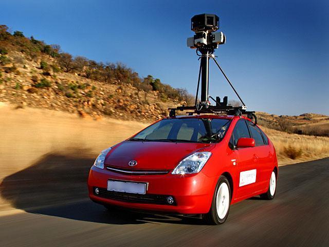 Google-мобиль в Юрге!