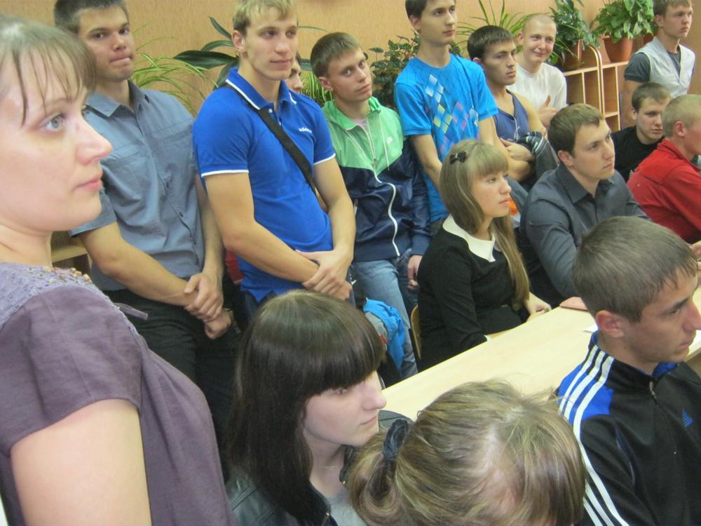 «Урок краеведения» в библиотеке ЮТИ ТПУ.