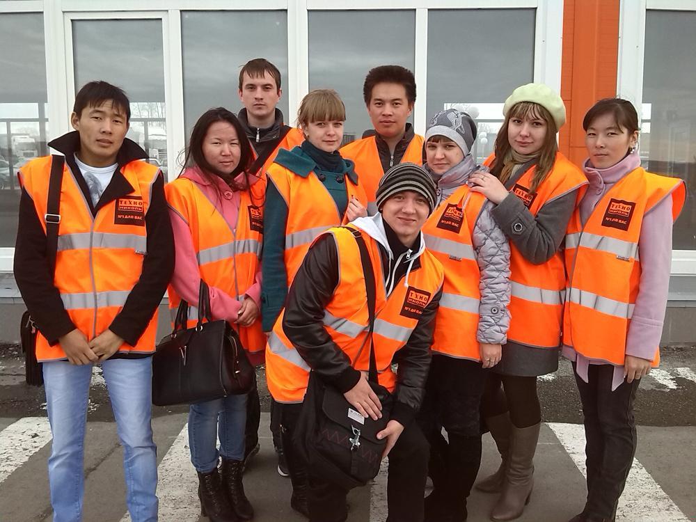 Экскурсия студентов кафедры Горно-шахтное оборудование на «Техно