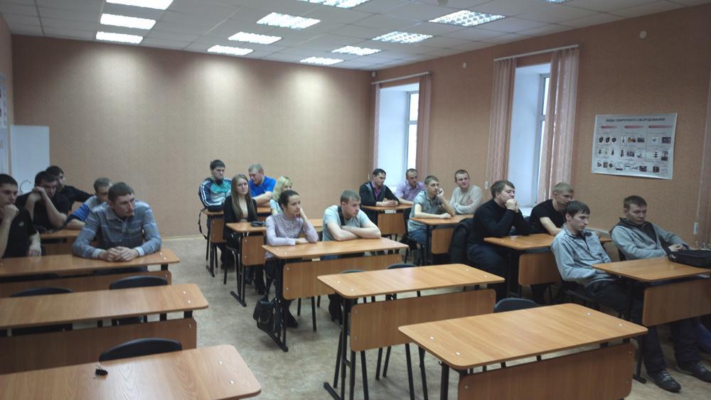 Встреча студентов гр. 10680, 10690, 10600 специальности 150202 «