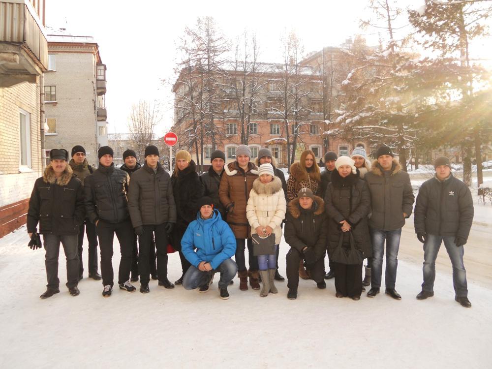 Поездка студентов в город Северск на экскурсию в Сибирский химич
