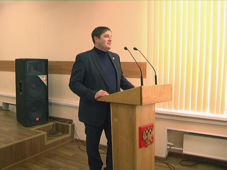 Видеосюжет от 03.02.14 г. «Директор ЮТИ ТПУ поздравляет студенто