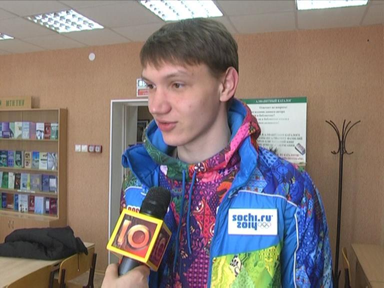 Видеосюжет от 06.03.14 г. «Студент ЮТИ ТПУ волонтер на олимпиаде