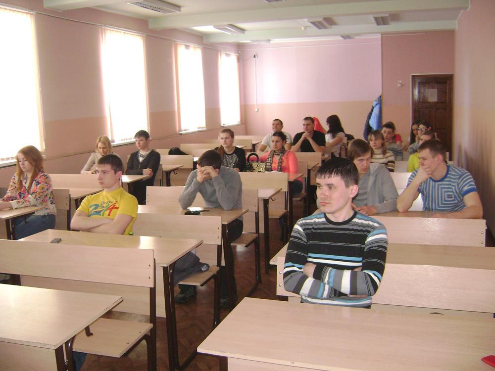 Встреча студентов-металлургов с представителями ОАО «Кузнецкие ф