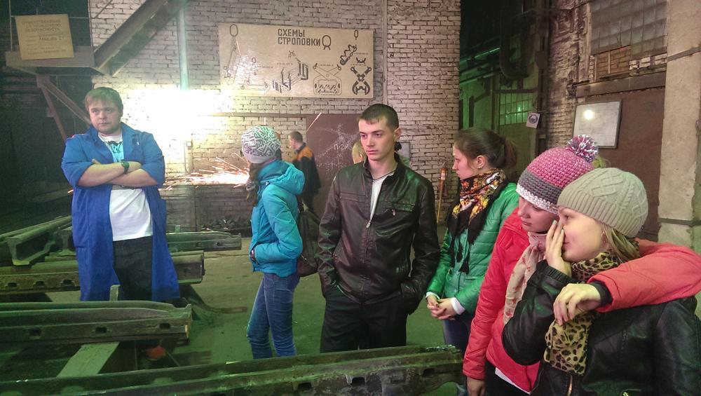 Будущие металлурги знакомятся с предприятиями Новосибирска.