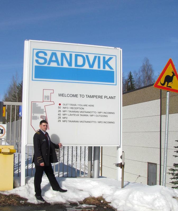 Стажировка на базе группы компаний SANDVIK