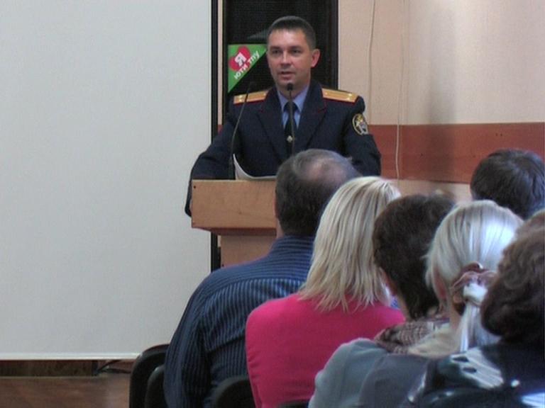 Видеосюжет от 10.10.14 г. «Беседа о коррупции с преподавателями