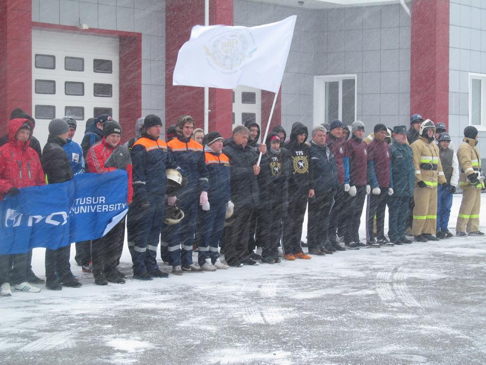 Студенты ЮТИ ТПУ приняли участие в соревнованиях среди студенчес
