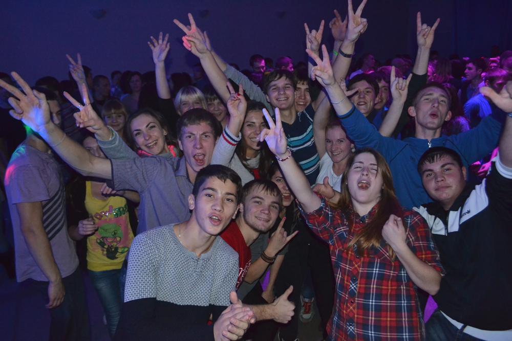 Городское посвящение в студенты «Студенческий бум! Все вместе!».