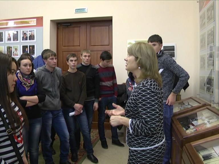 Видеосюжет от 10.11.14 г. «Студенты первокурсники ЮТИ ТПУ побыва