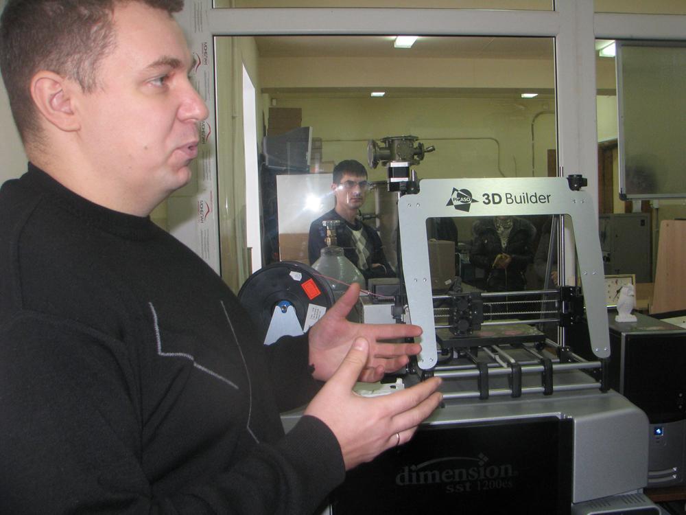 На кафедре «Металлургия черных металлов» прошли экскурсии в рамк