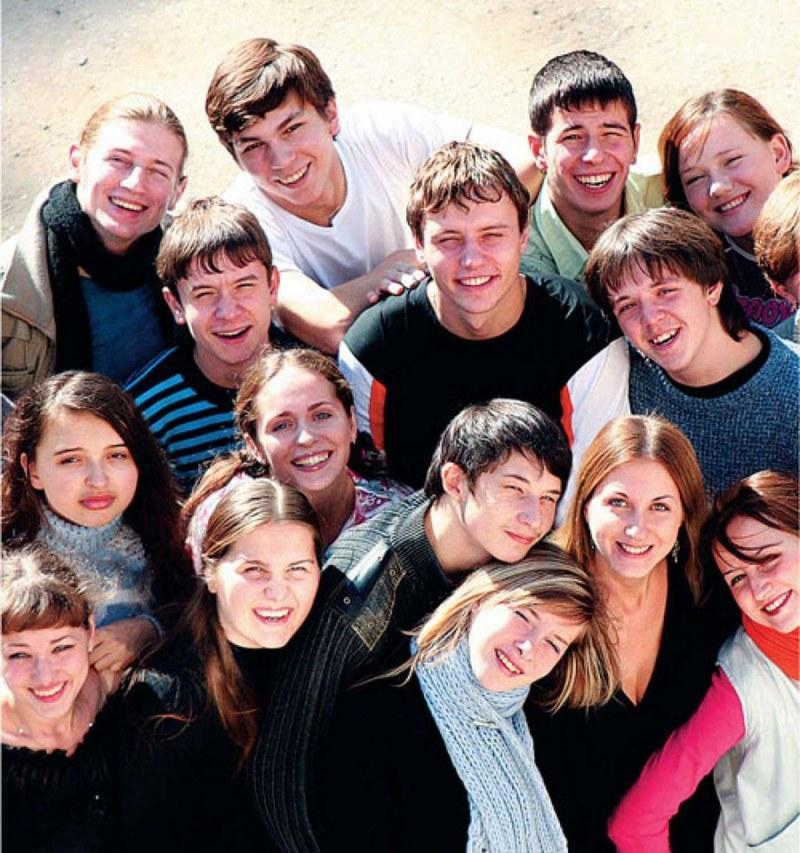 Группа 10В41 поздравляет кафедру с 15-летием!