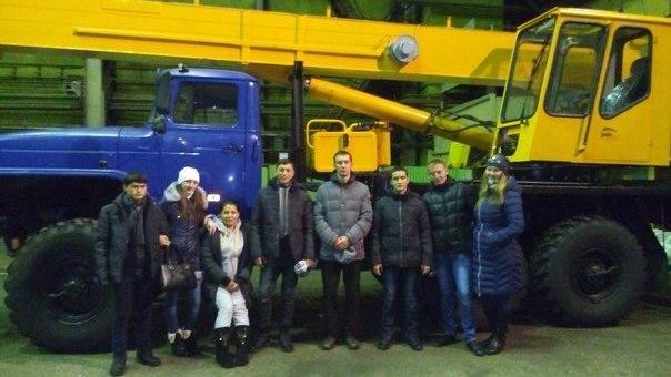 Экскурсия студентов гр. 10А41 на ООО «Юргинский машиностроительн