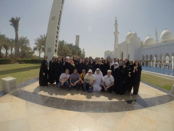 Студенты ЮТИ ТПУ побывали  в ОАЭ.