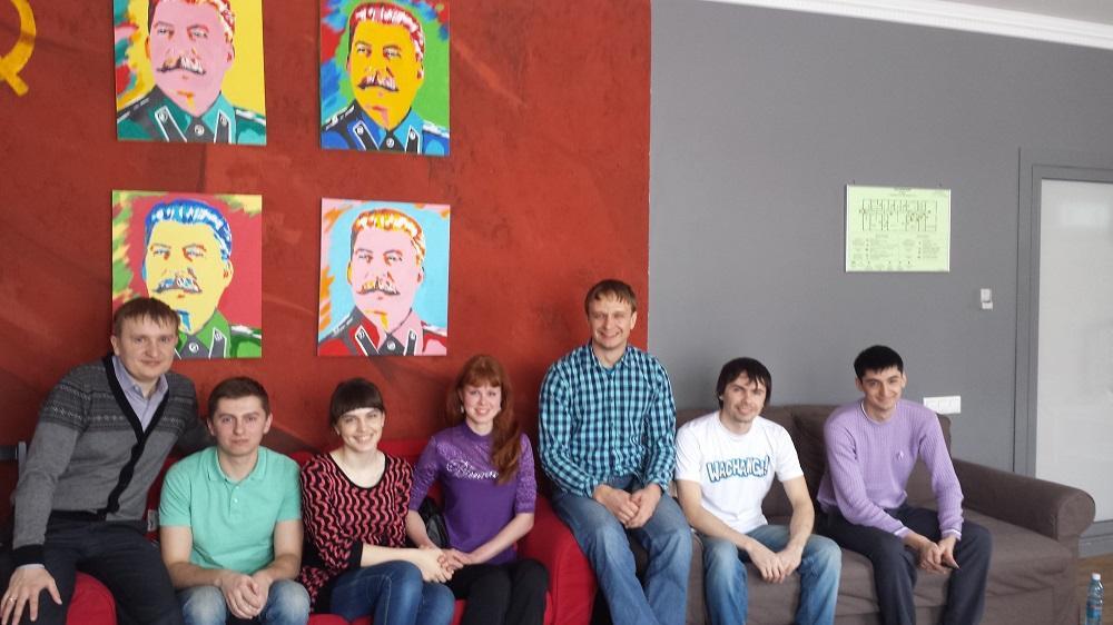Поездка студентов в самый необычный офис в г. Кемерово.