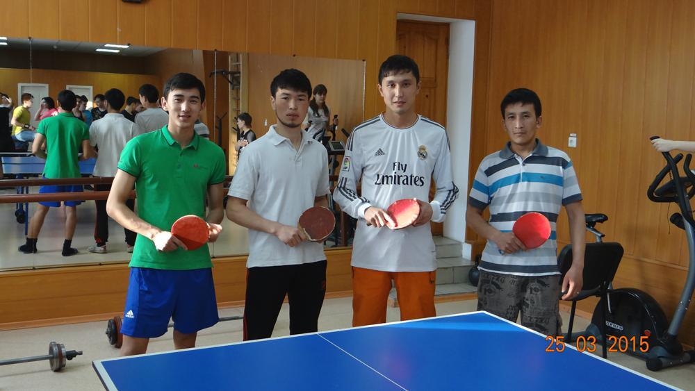Турнир по настольному теннису среди студентов и преподавателей,