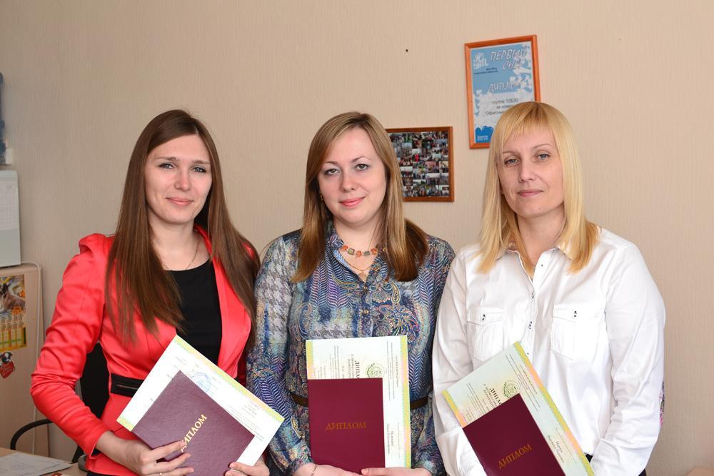 Успешная защита дипломов и получение звания «Преподаватель высше