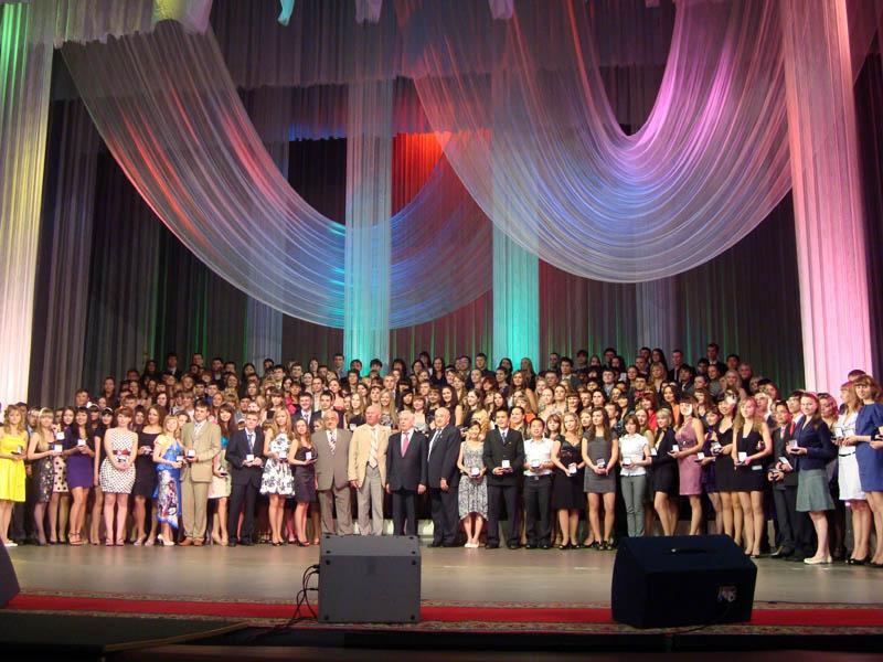Церемония чествования выпускников, окончивших Национальный иссле