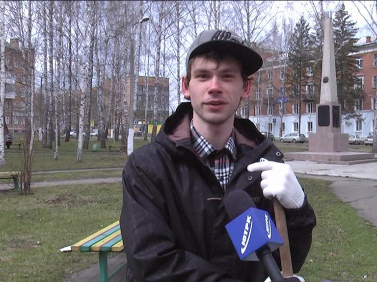 Видеосюжет от 19.05.15 г. «Субботник».