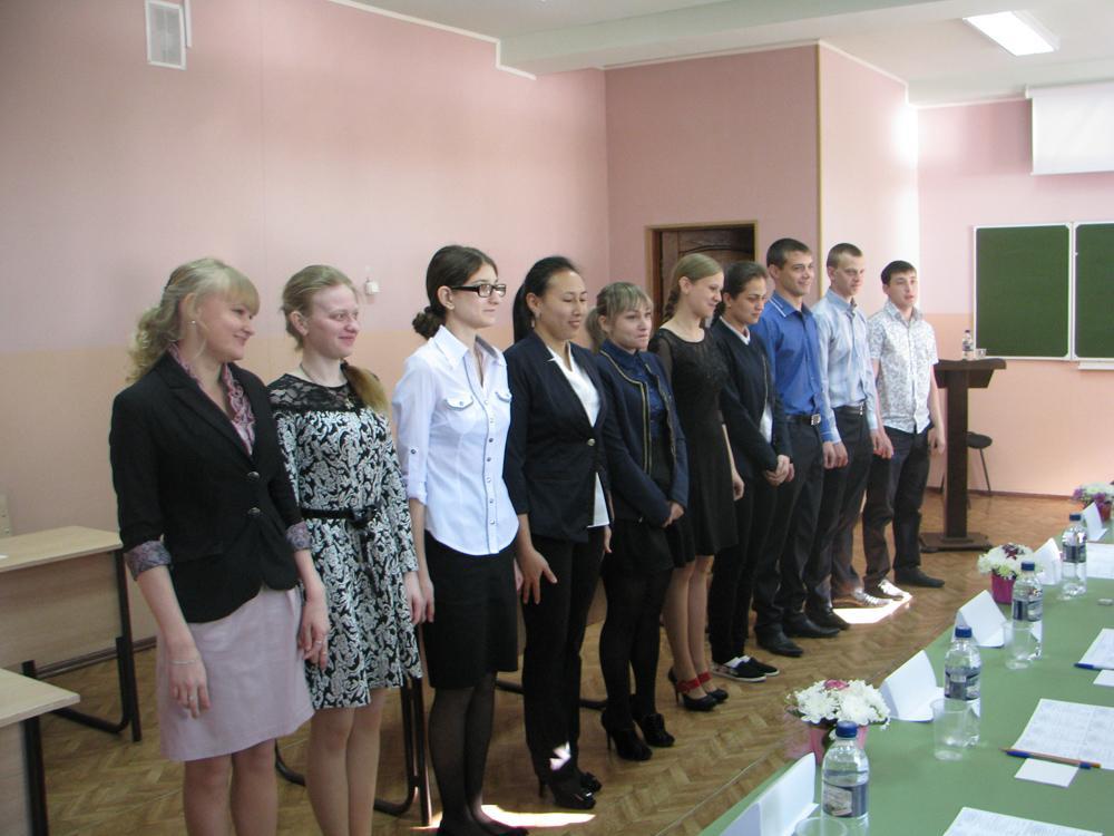 15 мая прошел Государственный междисциплинарный экзамен у выпуск