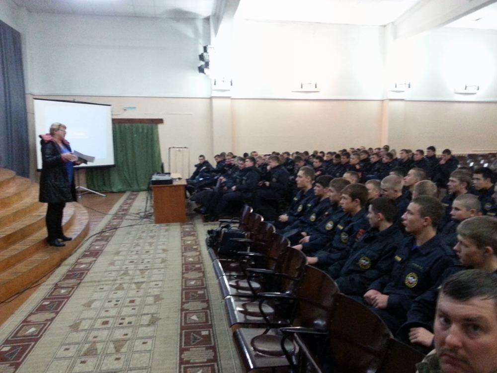 Профориентация для учащихся Губернаторской кадетской школы-интер