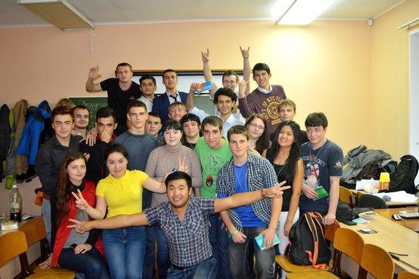 Посвящение первокурсников на кафедре Информационных систем