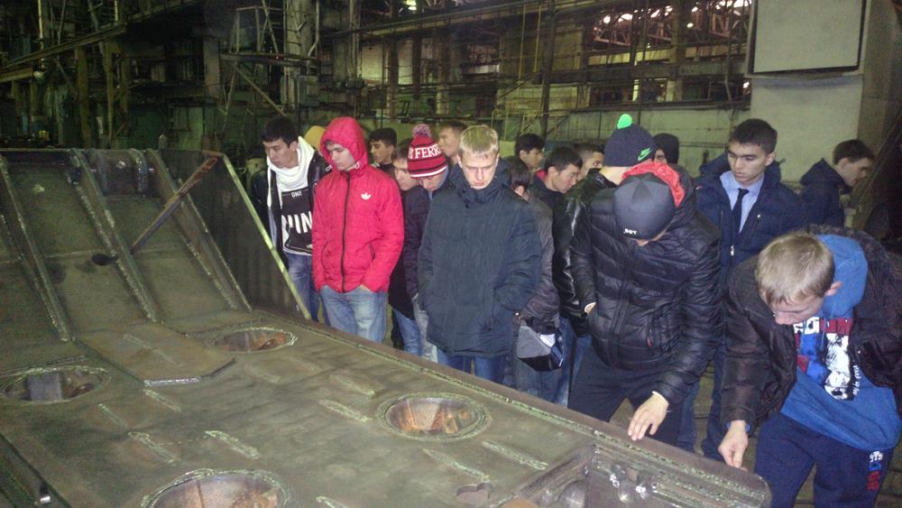 Знакомство студентов-первокурсников ЮТИ ТПУ с предприятием ООО «