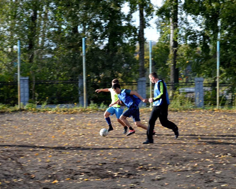 Итоги первых игр по мини-футболу в зачет спартакиады среди студе