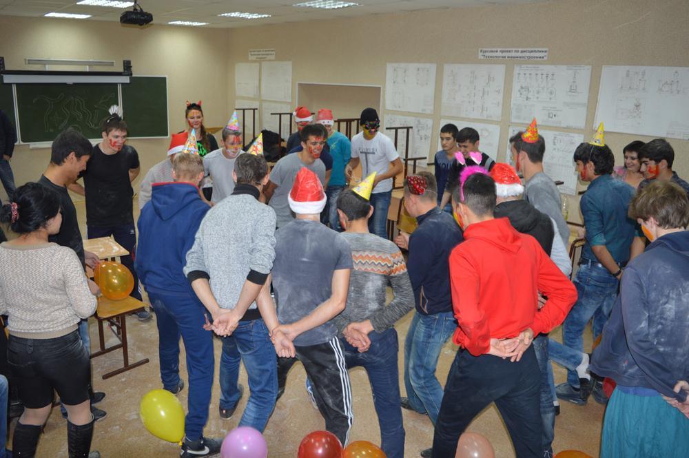 Посвящение в студенты первокурсников кафедры «Технология машинос