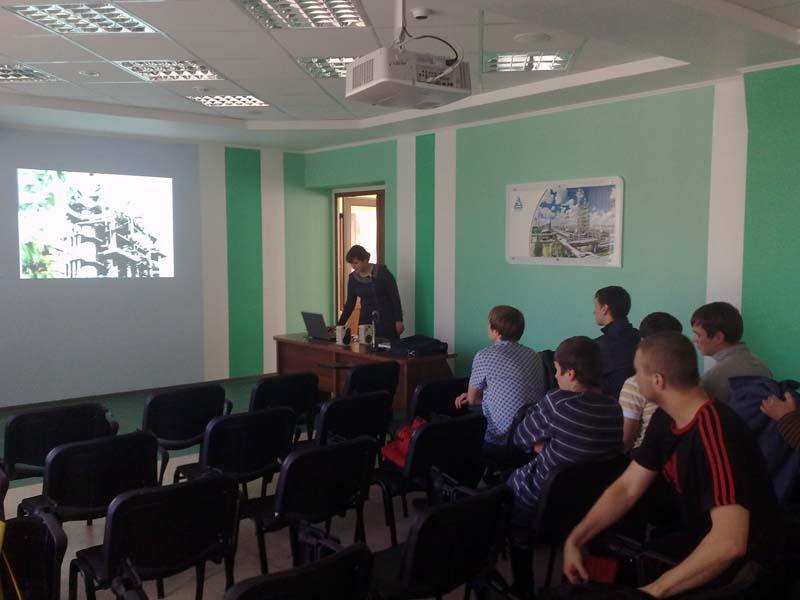Экскурсия студентов специальности «Оборудование и технология сва