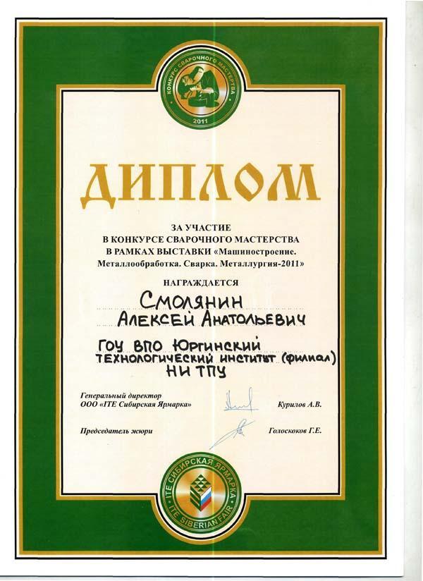 Студенты специальности 150202 «Оборудование и технология сварочн