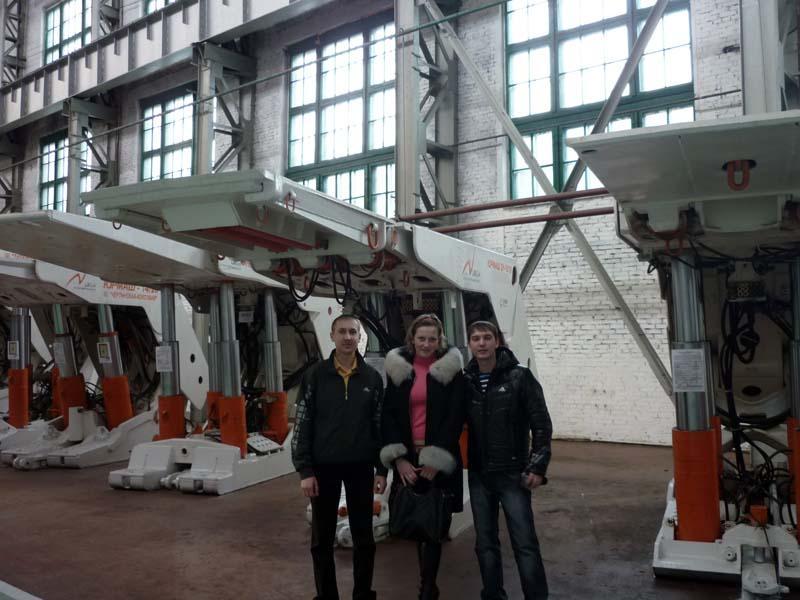 Экскурсия на Юргинский машиностроительный завод