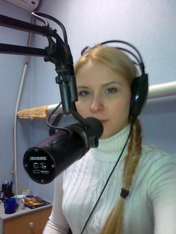 Студенты на радио «Тон»