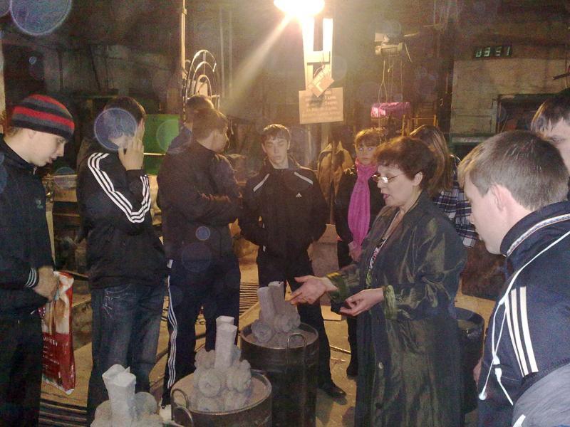 Экскурсия студентов кафедры Сварочного производства на ООО «Юрги