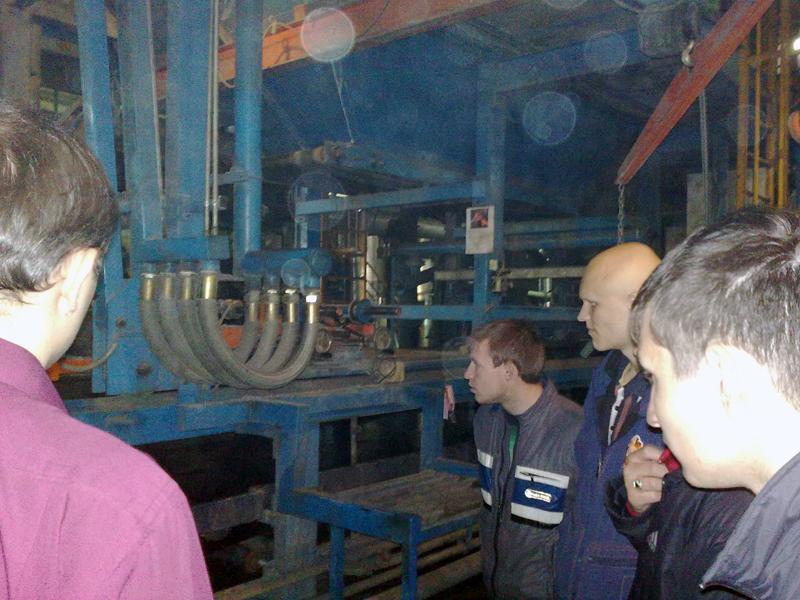 11 мая 2011 состоялась экскурсия студентов специальности 150202
