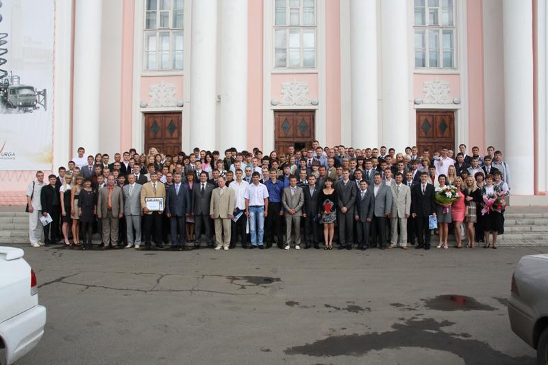 Выпуск ЮТИ ТПУ -  2011
