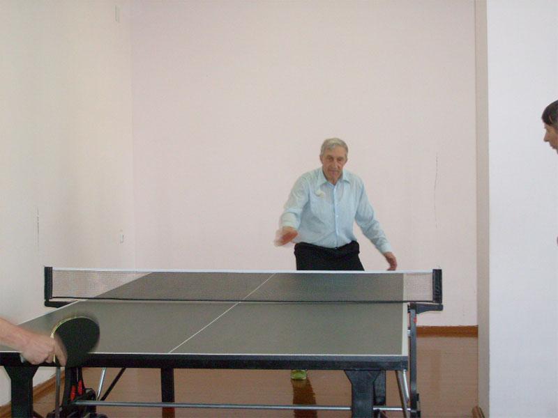 Итоги товарищеской встречи по настольному теннису