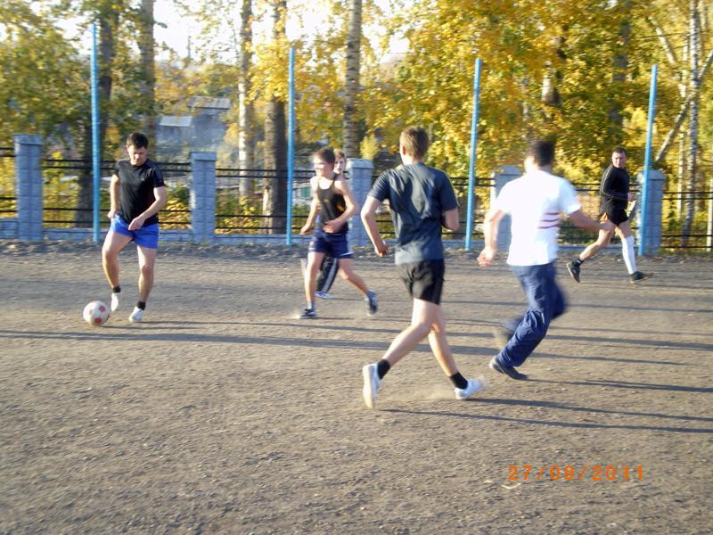 Футбольный матч между сотрудниками кафедры Сварочного производст