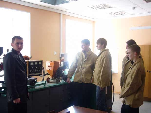 Опыт организации работы с будущими абитуриентами на кафедре cвар