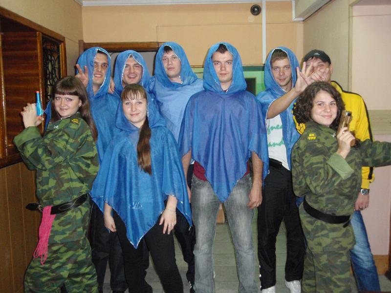 Посвящение в студенты: первокурсники кафедры МЧМ побывали героям