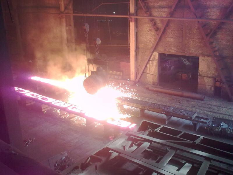 Будущие металлурги познакомились с ферросплавным заводом.