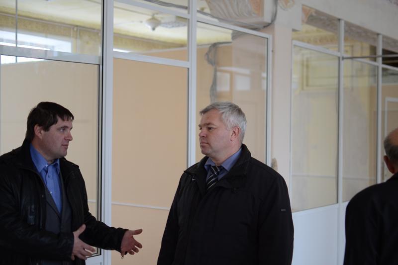 Встреча с заместителем губернатора Карпунькиным С.В.