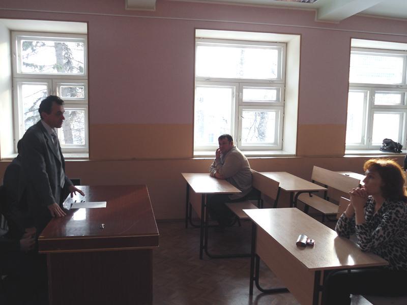 Встреча с главным металлургом Юргинского машиностроительного зав