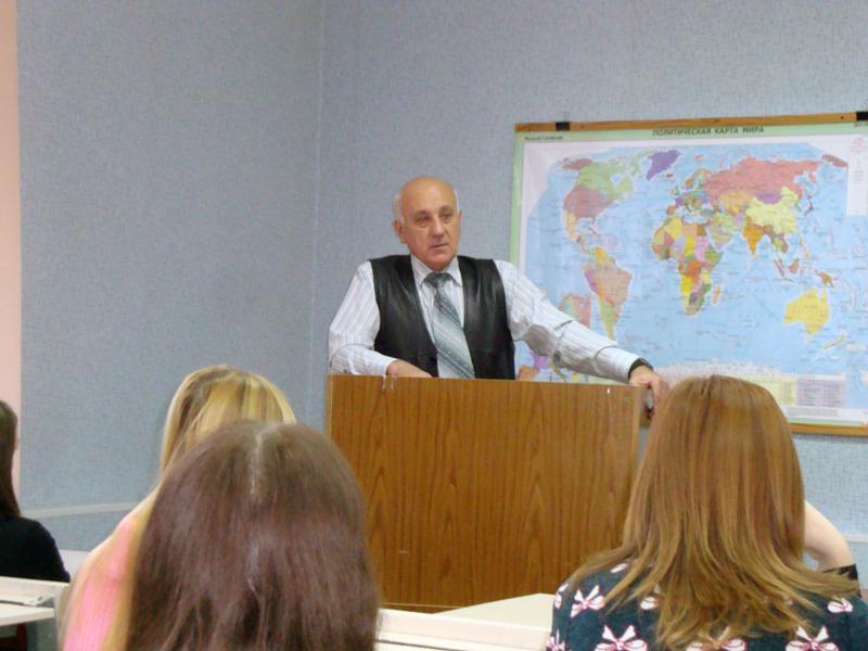 Встреча студентов специальности «Менеджмент организации» с начал