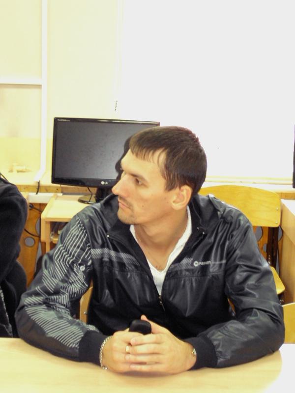 """Встреча студентов кафедры """"Информационных систем"""" с начальником"""