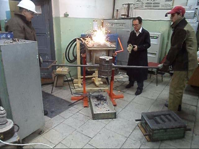 На МЧМ начал работать участок литья.