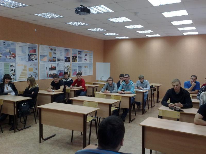 Встреча студентов гр. 10660 специальности 150202 «Оборудование и