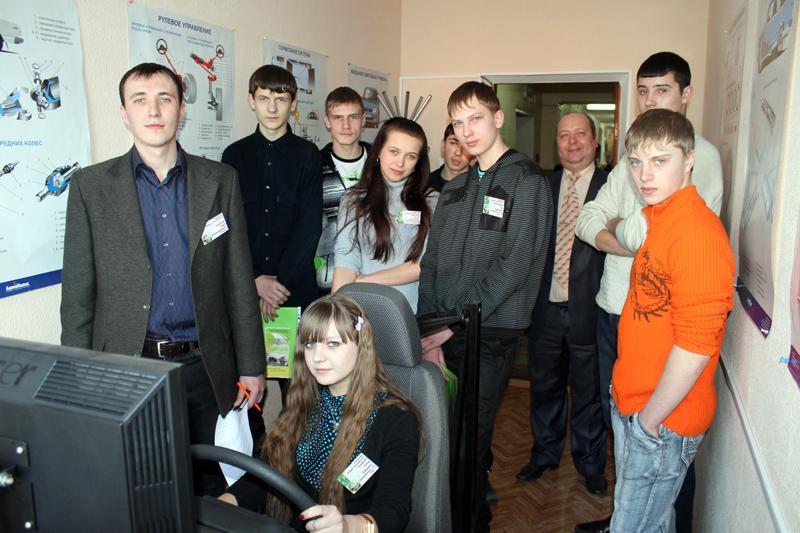 На кафедре Агроинженерии прошла олимпиада «Юный автолюбитель».